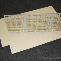 Architektur Modell aus Finnpappe